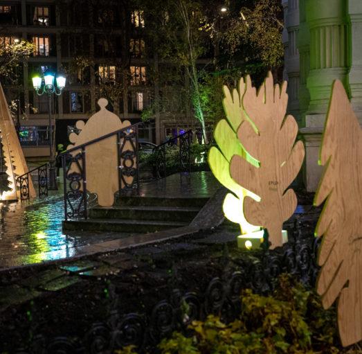 Consultation- Scénographie de Noël- Parvis de la Mairie du 12e- Edition 2021